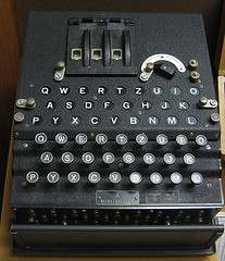"Photo Credit ""Die Luftwaffe (Air Force) ENIGMA"" by brewbooks via Flickr CC"