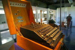 "Photo credit: ""Enigma Machine (Bletchley Park)"" by Tim Gage via Flickr CC"