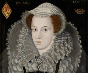 Portrait of Mary, Queen of Scots. BBC