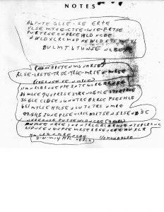 Ricky McCormick's Note