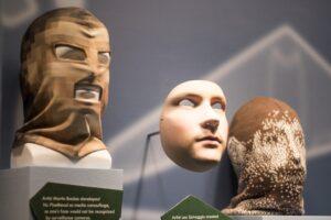 Masks meant to foil facial recognition