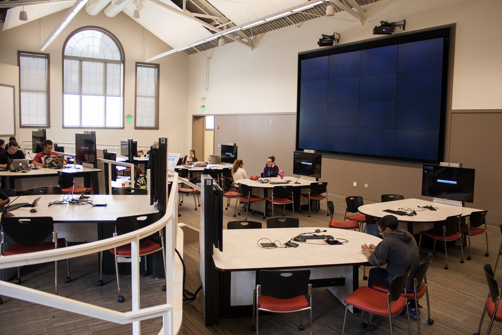 Active Learning Classroom, Indiana University
