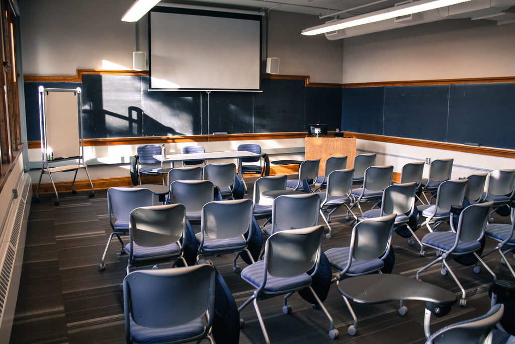 Weitz Center Classroom, Carleton College