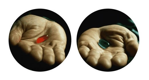 Red Pill, Blue Pill (via #DALMOOC)